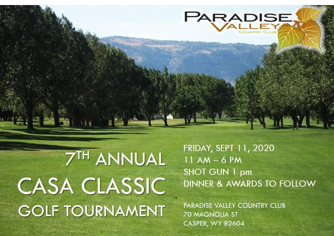 2020 CASA Classic Golf tourney
